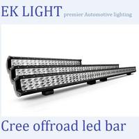 2014 CREE 4x4 led light bar 50 inch led light bar for trucks Atv SUV