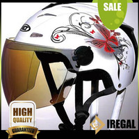Open Face Carbon Fiber Ladies motorcycle helmet