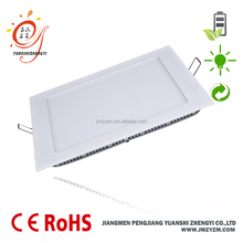 energy saving <strong>flat</strong> down ceiling ultra thin square LED panel light 3W