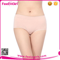 Low Waist Mature Classic Women Swimming Underwear For Fat