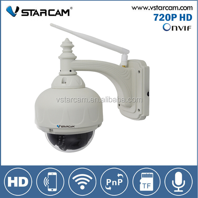 Hot selling VStarcam 720P rotating battery operated outdoor wireless security camera