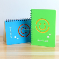 Promotional Smile Face Notebooks Cute Pattern