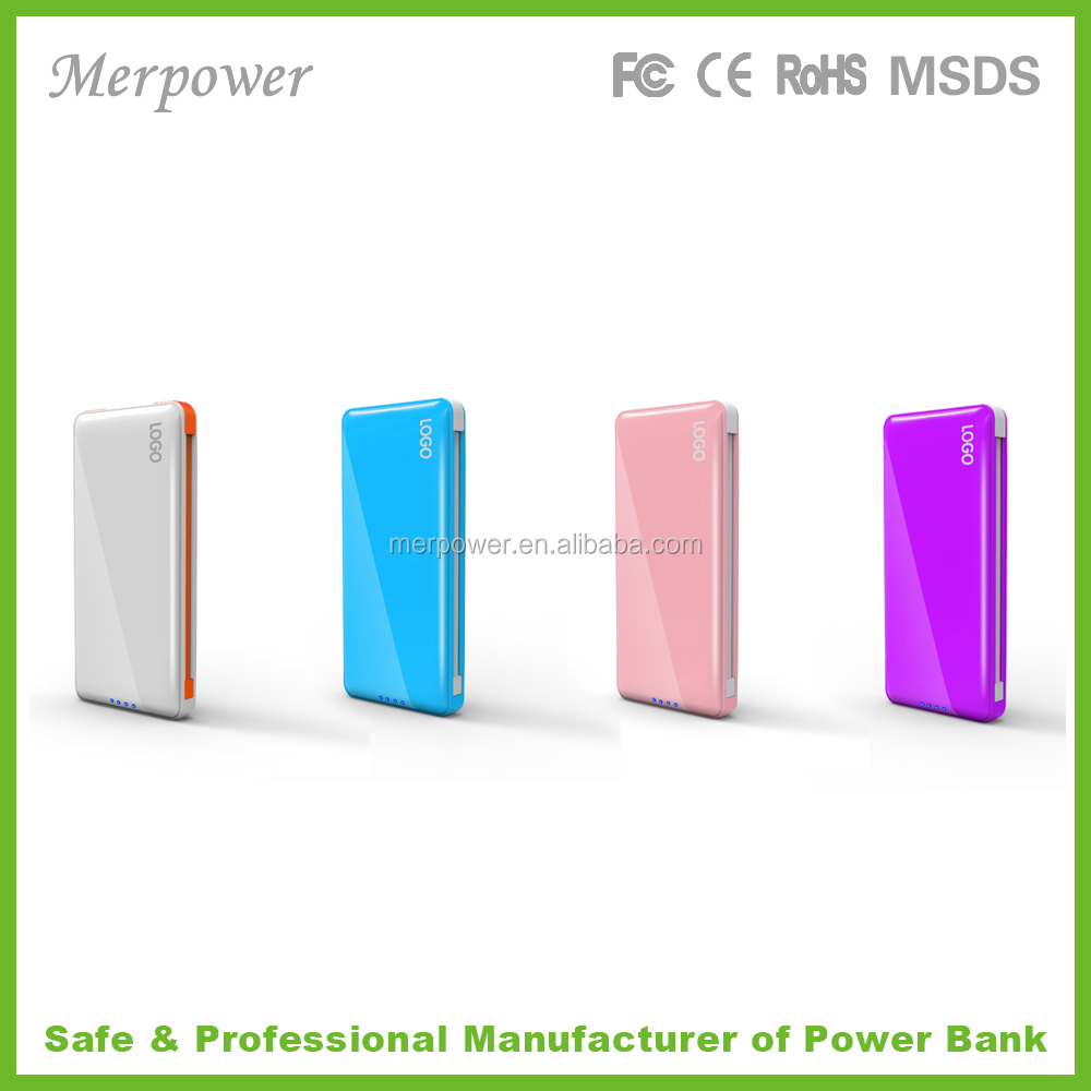 2015 High Quality mobile power bank 5200mah Portable Power Bank 2600mah For All Kinds Of Mobilephone