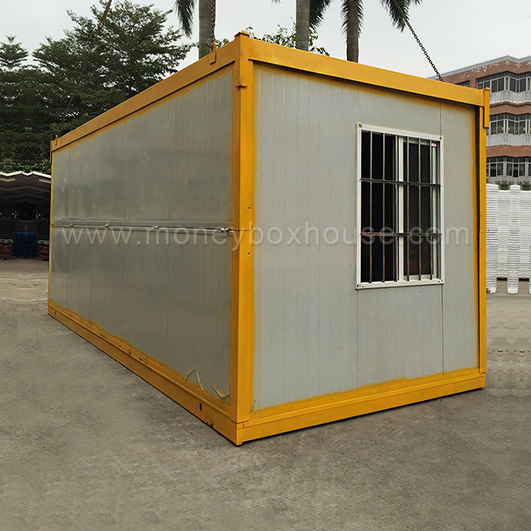20 40ft shipping folding container house with low cost for Maison low cost container