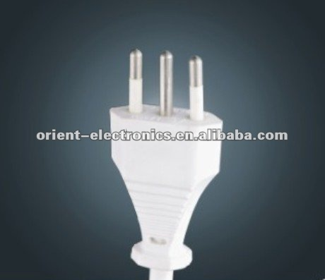 italy 3-pin power plug/Italy power cord/ IMQ approved