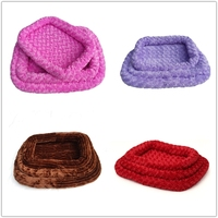 factory supply pet dog bed washable pet mat Rose Cashmere decorative cushions