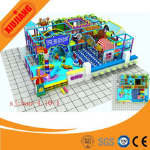 2015 Children Happly Castle Play Party Center Equipment, Kids Soft Play Zone