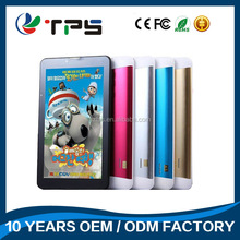 7 Inch Android Allwinner A33 800*480 512MB+8GB ROM Android Tablet pc Without Sim Card android smart tablet pc