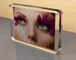 Eco-friendly lucite Picture Frame and agnetic Acrylic Photo Frame