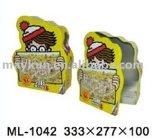 biscuit tin special shaped tin for food packing
