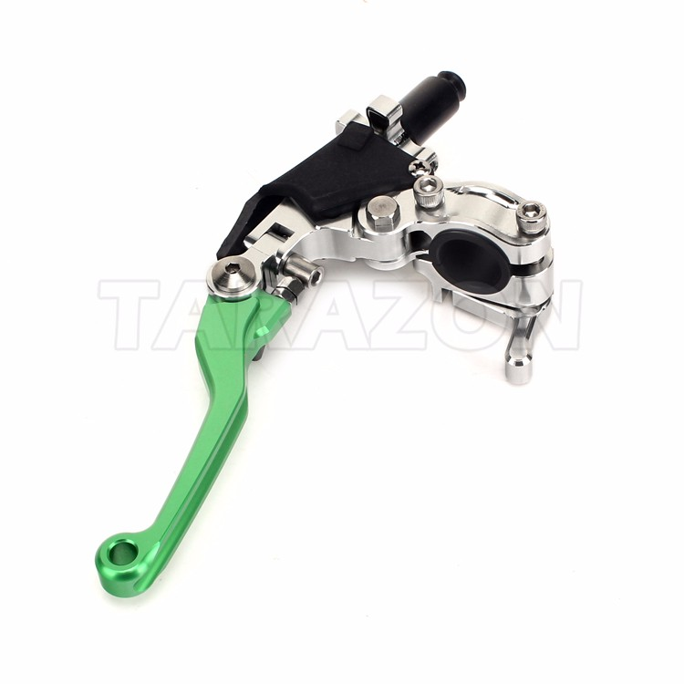 Univeral motorcycle hydraulic brake lever assembly for dirt bikes