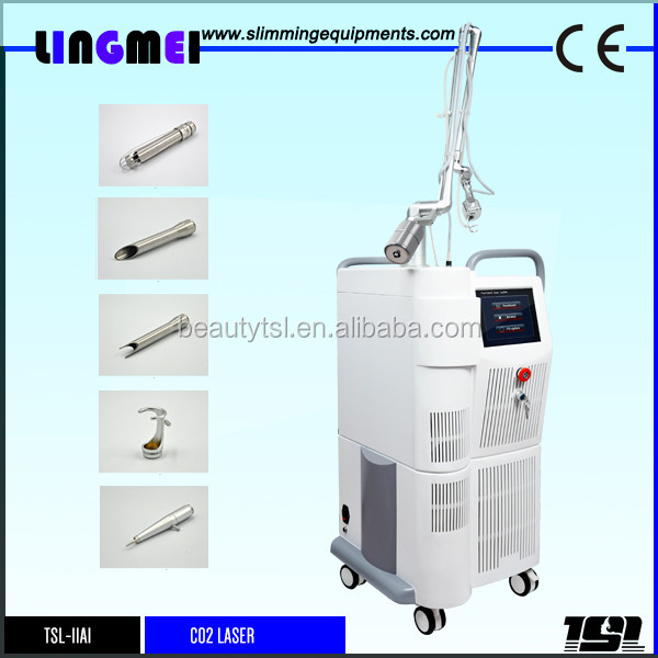 FDA approved ligmei best co2 laser beauty machine/ surgical co2 laser/ fractional co2 laser device with good effect for sale