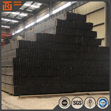 ST37 rectangular steel piping, steel pipe size 40mm*40mm, steel square hollow section