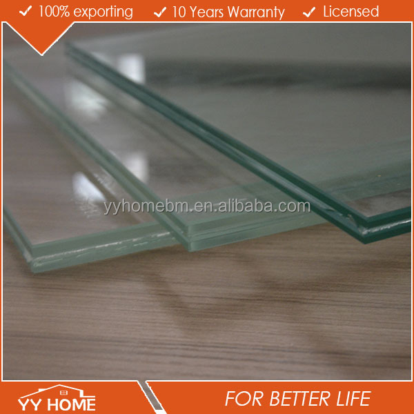 Shanghai glass supplier starfire crystal low iron ultra clear glass/building glass price with AS 2208 4666