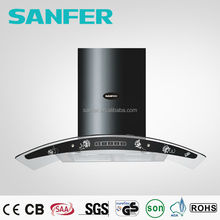 3 speeds 5 speeds Black Kitchen Air Range Hood