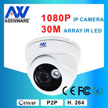 Special Offer 2.0MP 1080P Indoor Vandalproof IR IP Dome Camera 2mp network 3.6mm lens camera