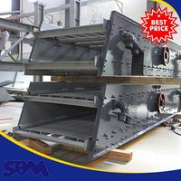 Quarry used used vibrating screen machine , river sand washing screens machine