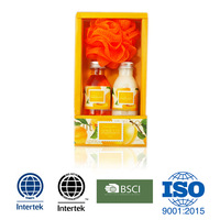 Apricot premium small box toiletry gift bath set
