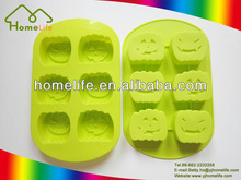 Hallowmas pumpkin shape silicone baking cake mould,halloween silicon cake mould
