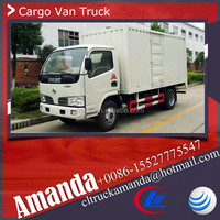 Dongfeng 4*2 95hp small mobile vans, used van for sale