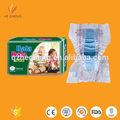 Hot product breathalbe cotton premium sleepy diaper baby with magic front tape