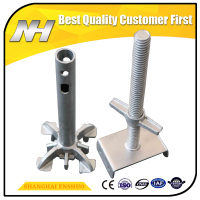 Steel Scaffolding Parts Adjustable Base Jack