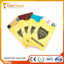 Magnetic Credit Card Protector, Plastic id Card Holder Blocker, Custom stop RFID theft Blocking Sleeve