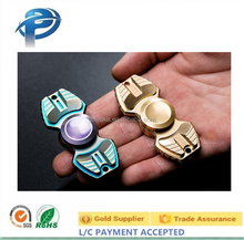 Armor Warrior spinning top toy spin disk toy,Titanium Alloy DIY Figit Figet Spinner Cool Designs R188 Torqbar Metal Hand Spinner