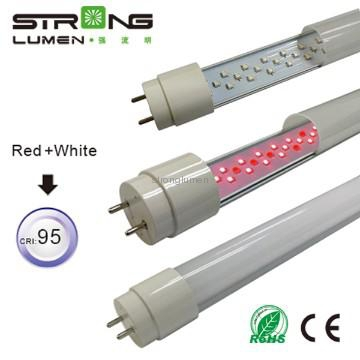 Factory Price Hot Sale CRI95 SMD Young Tube T8 Japan T8 Pink Led Tube Lights For Buther Shop