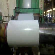 Steel in coil white color coated