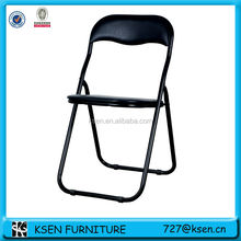 folding metal chair frames with cushion KC-7362A