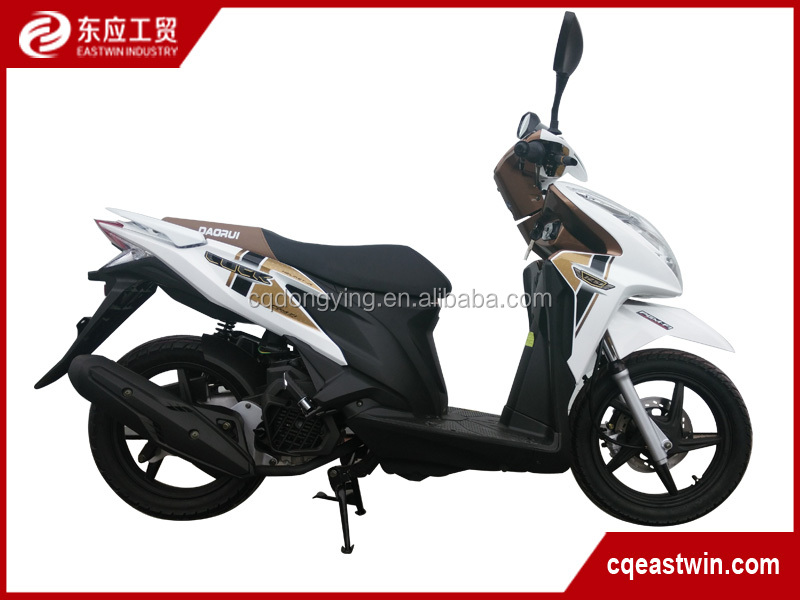 Factory Price 2016 new wholesale 125cc adult pedal motorcycle wave cub and scooter for cheap sale