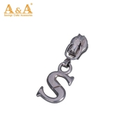 Handbag decorative custom shape zipper pull wholesale #3 zipper slider pulls