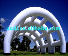 Waterproof PVC tarpaulin or PVC vinyl inflatable arch for event