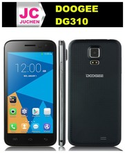 Cheap 5.0 inch Doogee Mobile Phone DOOGEE VOYAGER2 DG310 Smartphone MTK6582 Android 4.4 1GB 8GB Black/White!
