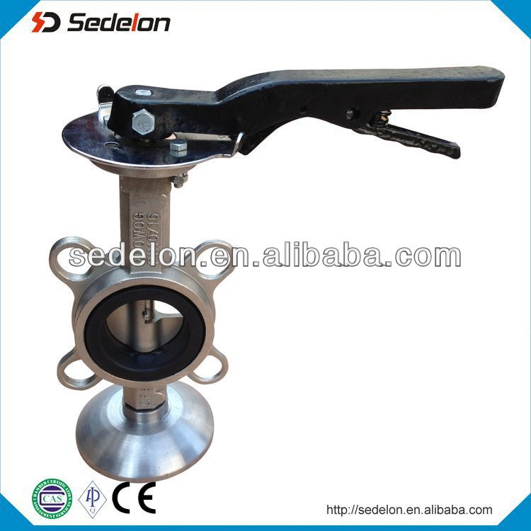 High-Performance Worm Gear Drive Butterfly Valve