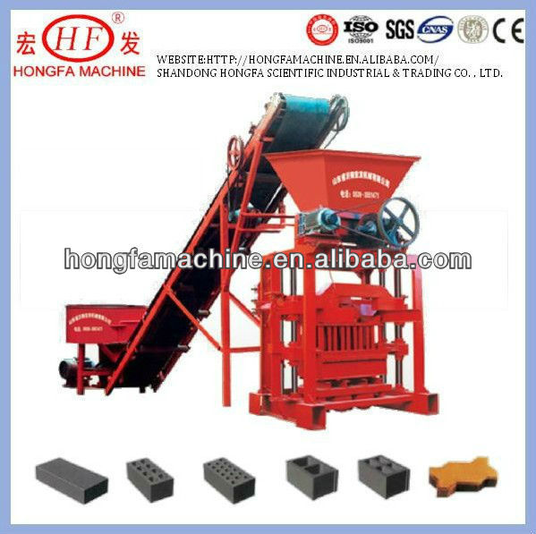 high production and good price,QTJ4-35B2 Concrete Brick Machine