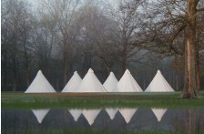 Ultimate 500 Tipi - zipped in groundsheet