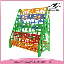 wholesale China Factory CE/FDA-Passed Nursery furniture plastic colorful kids furniture small bookcase book shelf