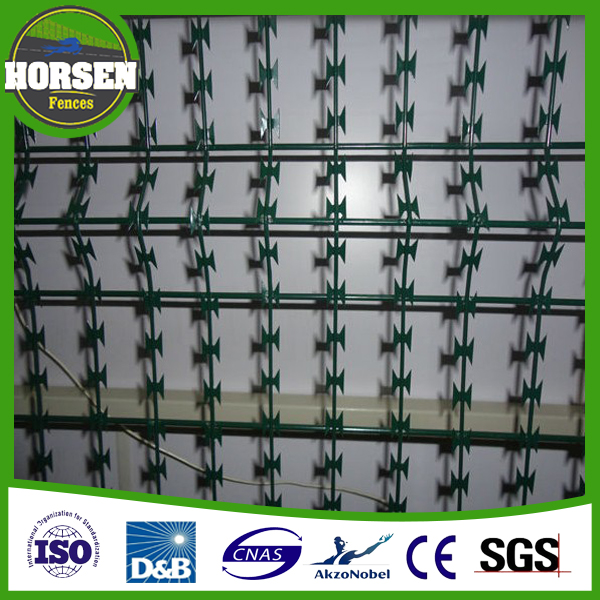 Factory Direct sale Low Price Galvanized BTO-22 Concertina Razor Barbed Wire / Razor Barbed Wire / Razor Wire Fence
