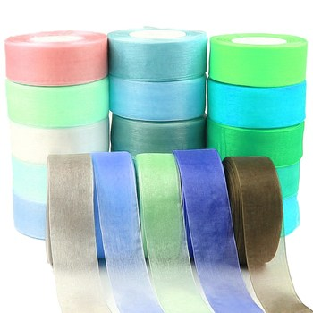 Chinese Manufacture Organza Sheer Ribbon, Silk Ribbon Organza For Garment