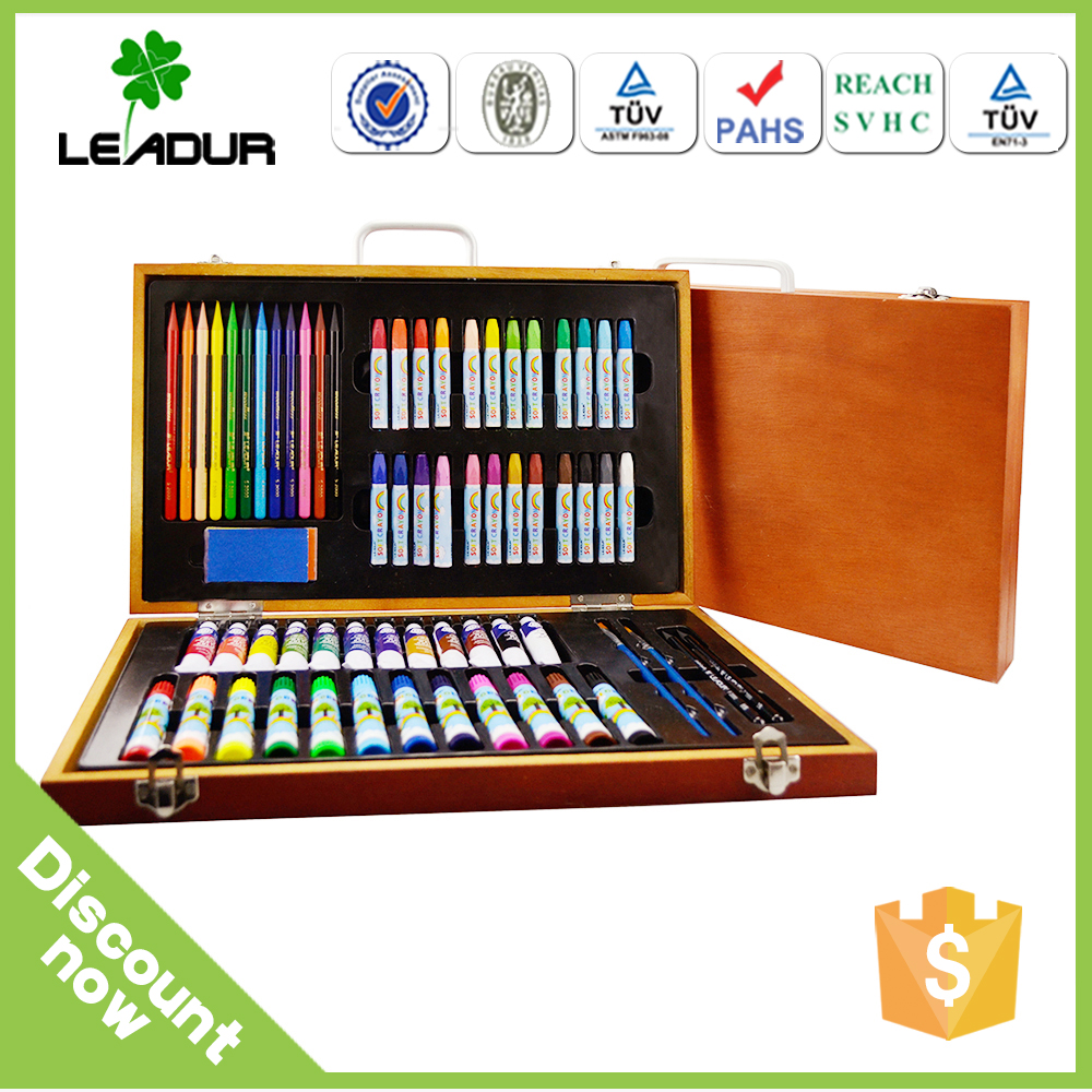 school painting stationery set