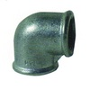Malleable Iron Hot Dipped Galvanized pipe Fitting Elbow 90 - 3""