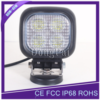 Top-Sale chinese utv parts 12v 24v 40W LED Work Light 4inch small led light for SUV ATV Trucks Cars