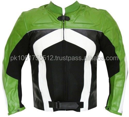 Leather Motorcycle Jacket Roz Industries