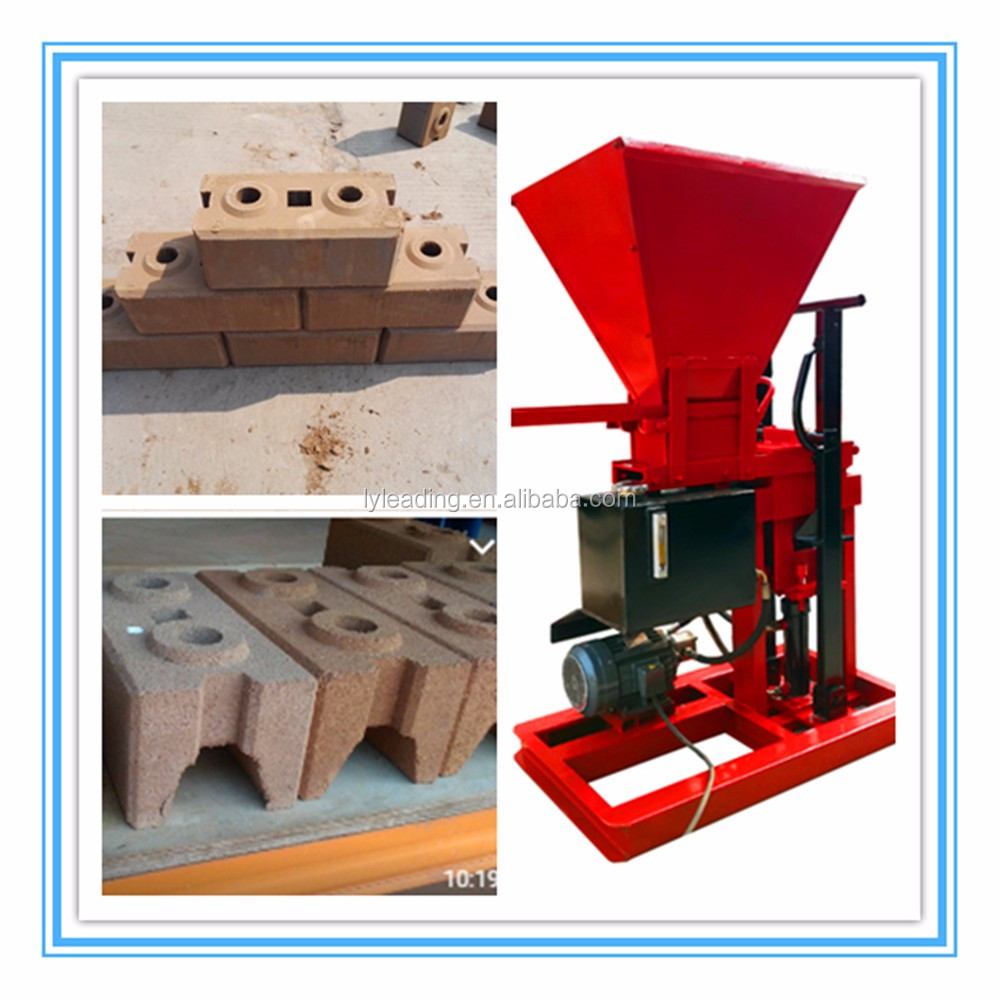 Eco Brava interlocking brick block machine on sale