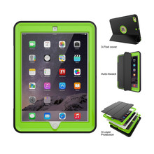 Universal Kid Proof Back Cover Pc Tpu 7 Inch Dormancy Silicon Tablet Hard Case For New Ipad 9.7 2017
