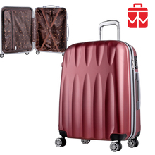 Trendy 20'' 24'' 28'' travel trolley bag luggage carrier