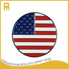 No mold fee USA flag necklace golf ball markers wholesale