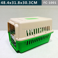 4 sides soft ventilation plastic Pet cage for dogs & cats